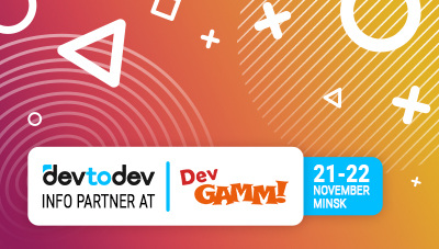 Let's meet at DevGAMM Minsk