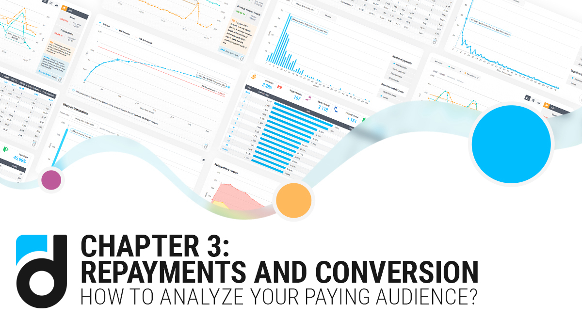How to Analyze Your Paying Audience? Chapter 3: Repayments and Conversion