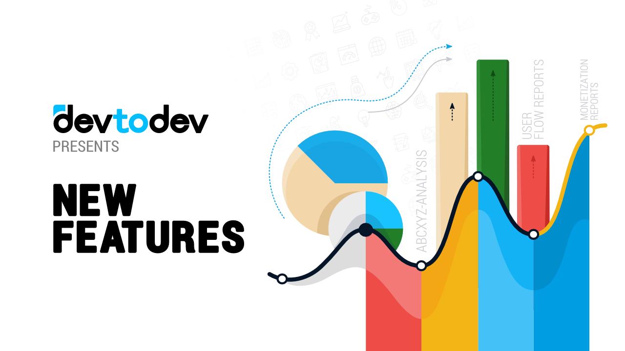 devtodev представляет новую систему и игровые отчеты
