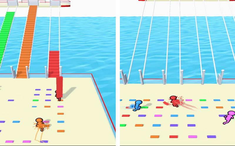 Bridge game hypercasual