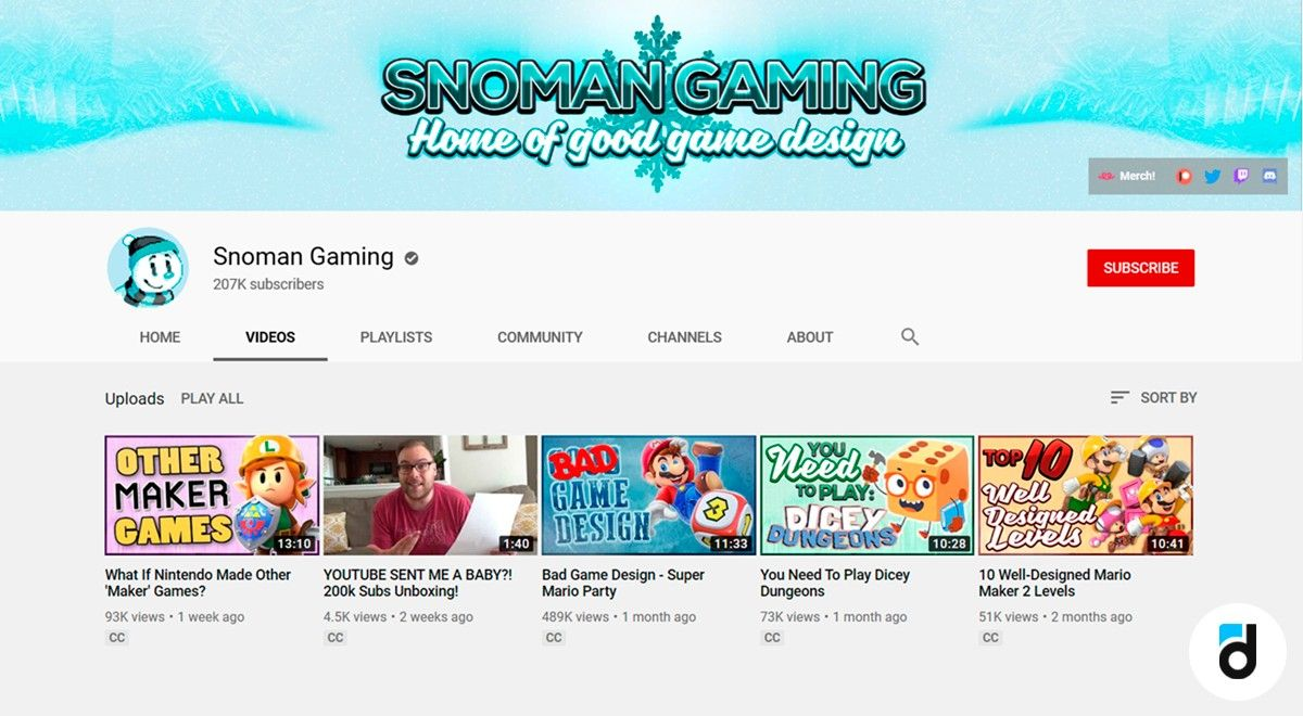 Snoman gaming youtube