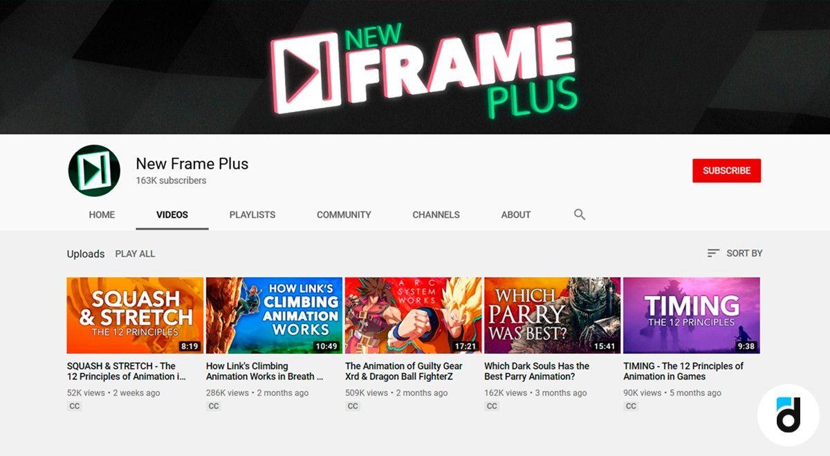 New frame plus youtube