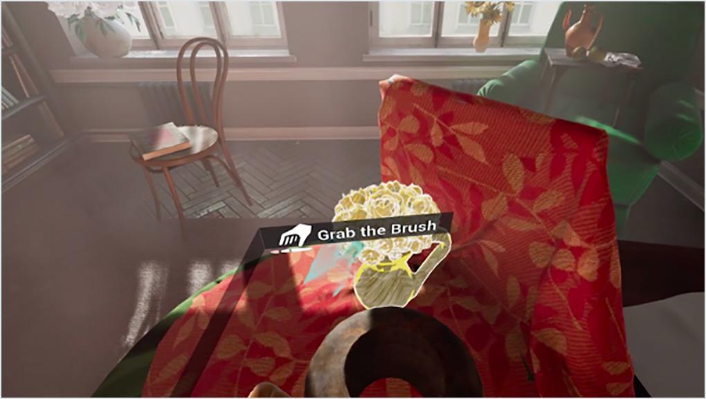 virtual reality room view