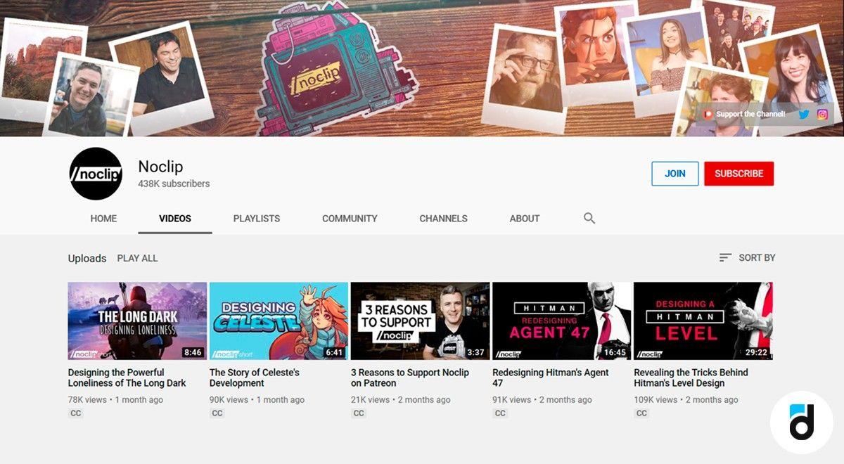 No clip design chnnel youtube