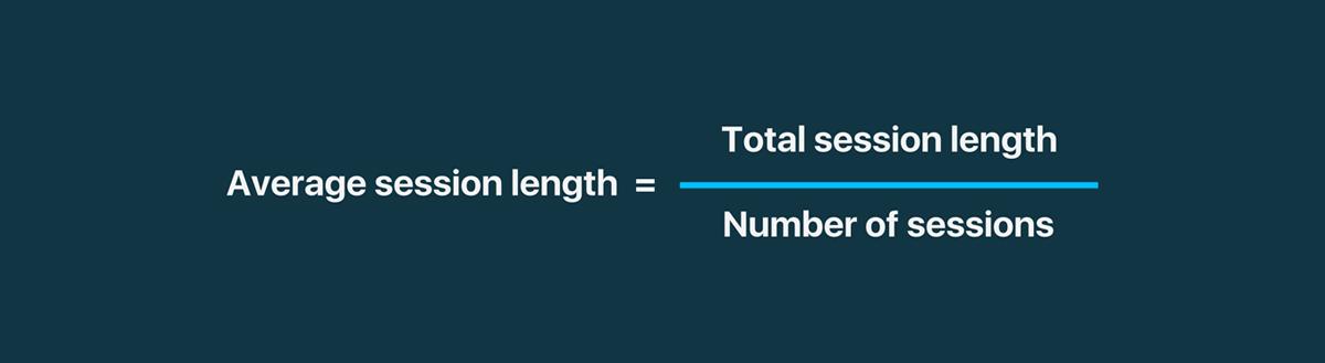 Formula average session length