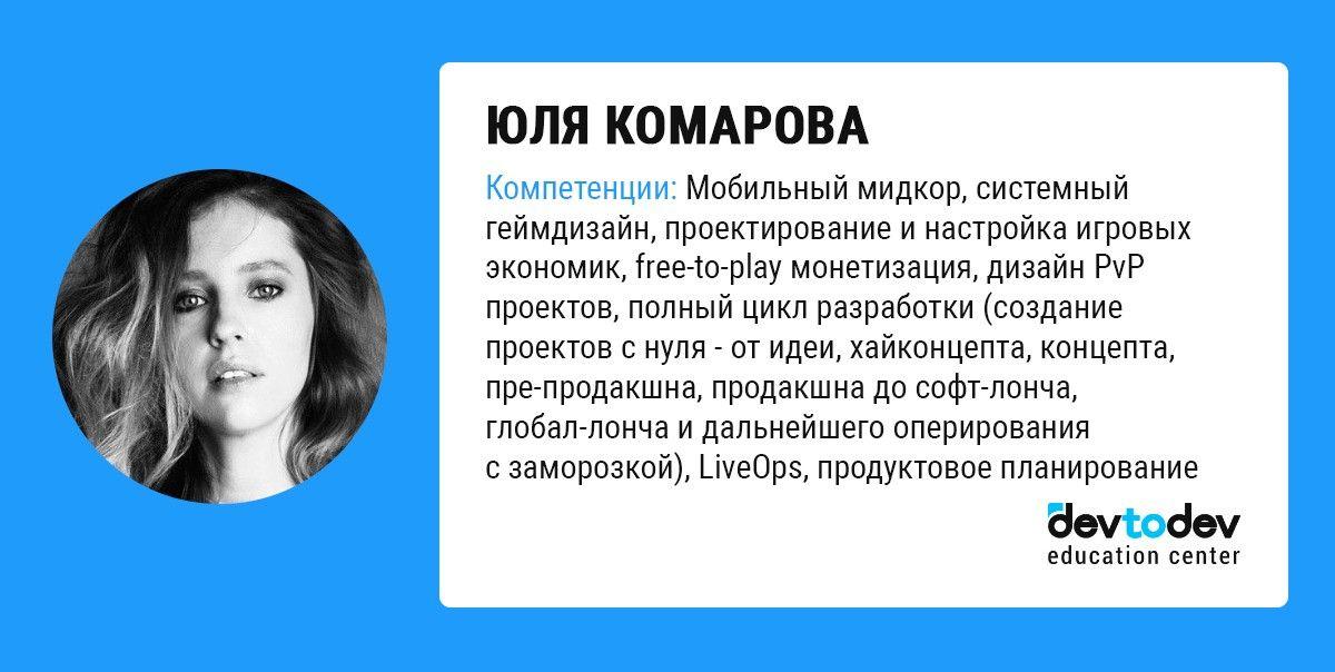 Yulia Komarova Юлия Комарова