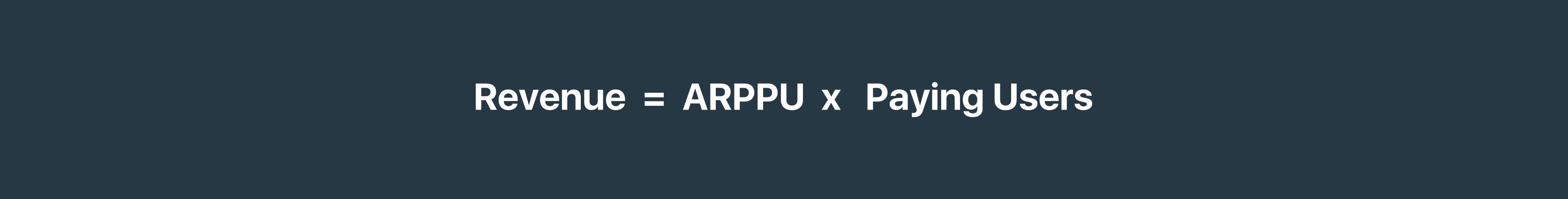 Formula dokhoda ARPPU