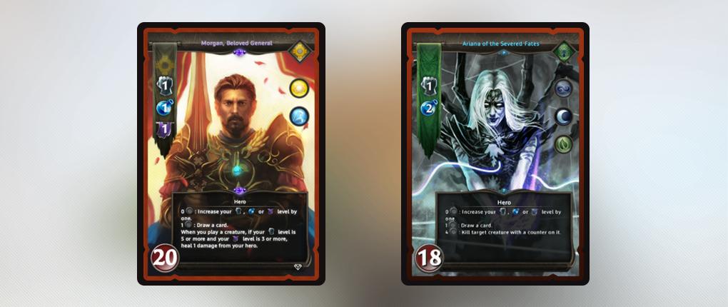 Мягкая стратификация заключается в стартовых значениях Силы, Магии и Судьбы: они используются для розыгрыша карт разных типов.