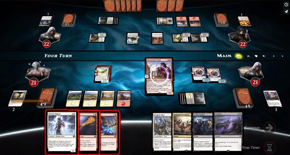 Игры с блокированием позволяют оппоненту блокировать ваши атаки своими существам и именно к этому классу относится первая и до сих пор самая популярная в мире ККИ Magic: the Gathering (MtG).