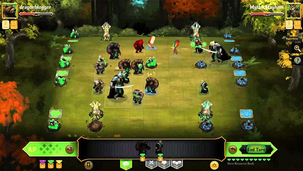 Стандартная битва в Conquest of Champions проводится на гораздо большей карте, заставляющей задуматься о группировке войск
