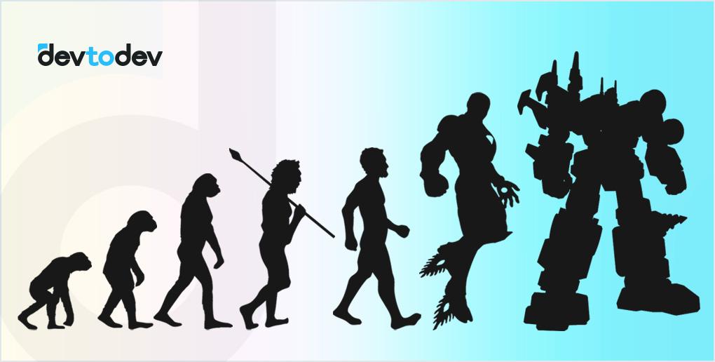 """Пример """"правильной"""" эволюции"""
