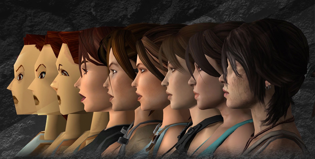 The evolution of Lara Croft in video games